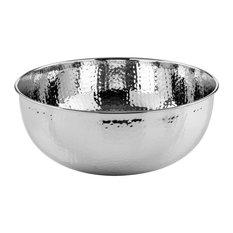 New Shine Chromed Brass Vessel Sink, 39x17 cm