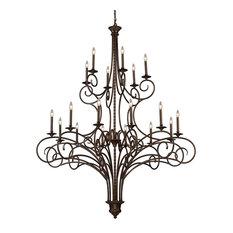 ELK Lighting Gloucester 18-Light Chandelier - 15044/12+6
