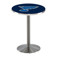 St Louis Blues Pub Table 36-inchx36-inch