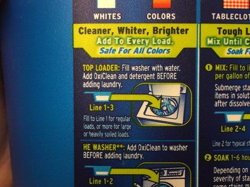 Howwhere Do I Add Oxiclean To My Top Loading He Washing Machine