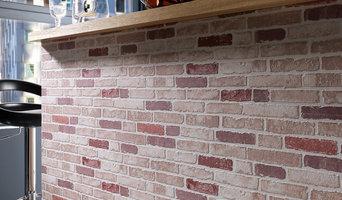 Brick Wallpaper Accent Wall