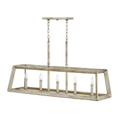 Hinkley Tinsley Chandelier Five Light Linear