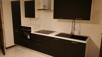 Montaggio cucine su misura