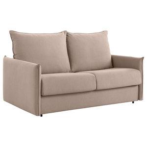 Belfast Sofa Bed, Beige
