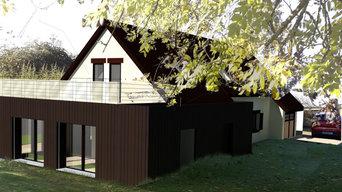 Projet extension d'une pièce à vivre d'été.