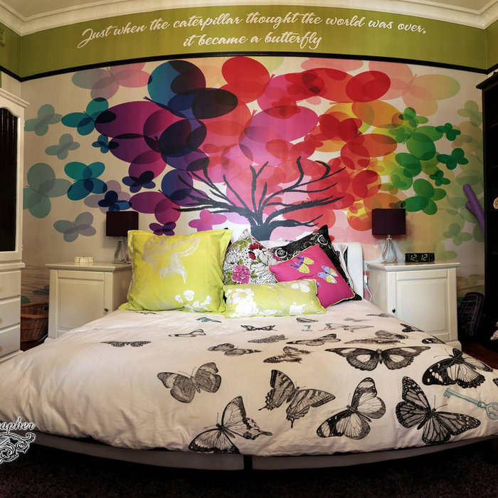 Starlight Children's Foundation. Girls dream comes true with a bedroom makeover.