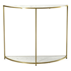 DOVETAIL CORMAC Console Brass Metal
