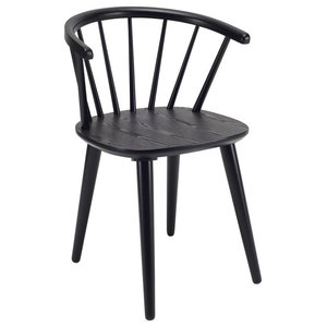Caley Dining Chair, Black, Set of 2