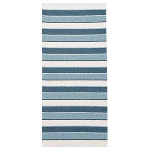 Tore Vinyl Floor Cloth, Blue, 150x240 cm
