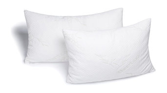 Avana Memory Foam Bamboo Head Pillow, Set of 2, King