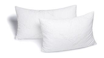 Avana Memory Foam Bamboo Head Pillow, Set of 2, King