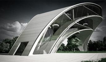 3D Architektur Visualisierung Konzept