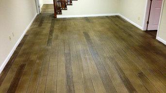 Concrete Wood Flooring