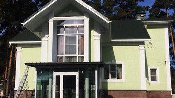 Фасад дома г. Барнаул