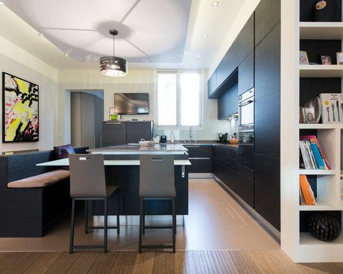 Am nagement cuisine ouverte sur salle de s jour - Amenagement de cuisine ...