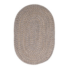 Colonial Mills Tremont TE19 Gray Traditional Area Rug, Round 12' x 12'