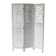 milton greens stars inc grant 3panel room divider gray screens and