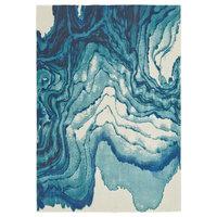 Weave & Wander Omari Rug, Atlantic, 8'x11'