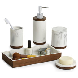 Transitional Bathroom Accessory Sets by Paradigm Trends