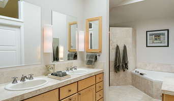 The master bath has everything you could want.