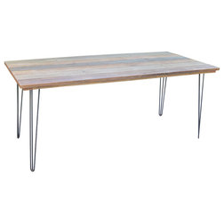 Fancy Industrial Dining Tables by Local Timber