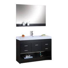Virtu USA - Virtu USA 48 Inch Single Bathroom Vanity - Bathroom Vanities  And Sink Consoles