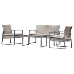 Cute Contemporary Outdoor Lounge Sets by Homesquare