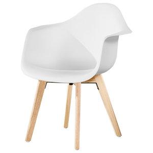 Rico DA Dining Armchair, White