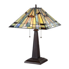 High Quality CHLOE Lighting, Inc.   Kinsey 2 Light Mission Table Lamp   Table Lamps