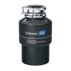 InSinkErator Contractor 333 Series 3/4 HP Garbage Disposal, Without Power Cord