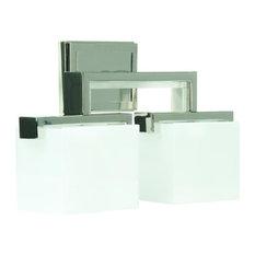 art deco bathroom lighting. Craftmade.com - Craftmade Contemporary, Art Deco Kade 2-Light Vanity, Polished Bathroom Lighting