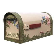 Special Lite Hummingbird Curbside Mailbox, Natural