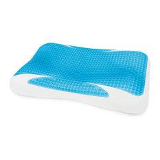 SensorPEDIC GelMax Contour Memory Foam Pillow