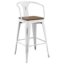 Farmhouse Bar Stools And Counter Stools by Modway