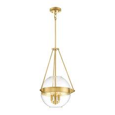 "Minka Lavery ""Atrio"" 2291 3-Light Pendant, Liberty Gold"