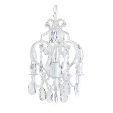 Sleeping Partners Home Fashion   3 Bulb Chandelier, White   Chandeliers