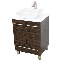 Trend Modern Bathroom Vanities And Sink Consoles by Windbay