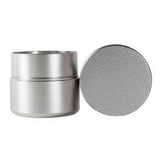 """Titanium Aluminum Alloy Coffee Container 2.6""""x2.4"""", 12"""