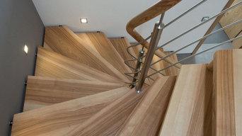 Treppen aus Massivholz
