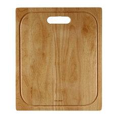 "Houzer CB-4100 Endura 17-3/4""L x 14-3/4""W Wooden Cutting Board"