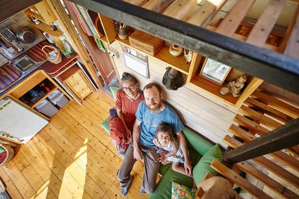 houzzbesuch wie einfach kann man leben ber wohngl ck auf 10 qm. Black Bedroom Furniture Sets. Home Design Ideas