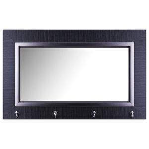 Double Vanity Herringbone Style Mirror 60 Quot X30 Quot Farmhouse Bathroom Mirrors By