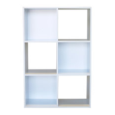 Proman Products Colonial 6 Cell Storage Cabinet White Cabinets