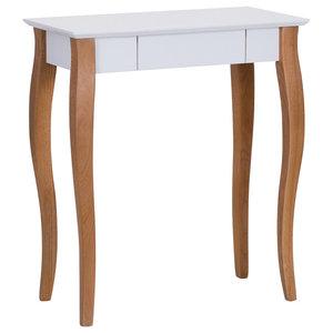 Lilo Small Scandinavian Desk, White