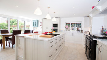Portchester Inframe Painted From Pebble Kitchens