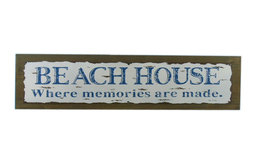 """Wooden Rustic Beach House Where Memories are Made Sign, 20"""""""
