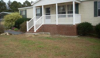 Brick Front Porch