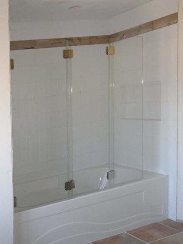 Tri and bi fold shower enclosure custom tri fold shower enclosure shower doors planetlyrics Images