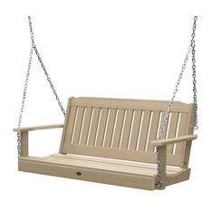 Lehigh Porch Swing, Tuscan Taupe, 5'