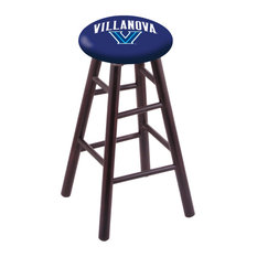 Maple Counter Stool Dark Cherry Finish With Villanova Seat 24-inch